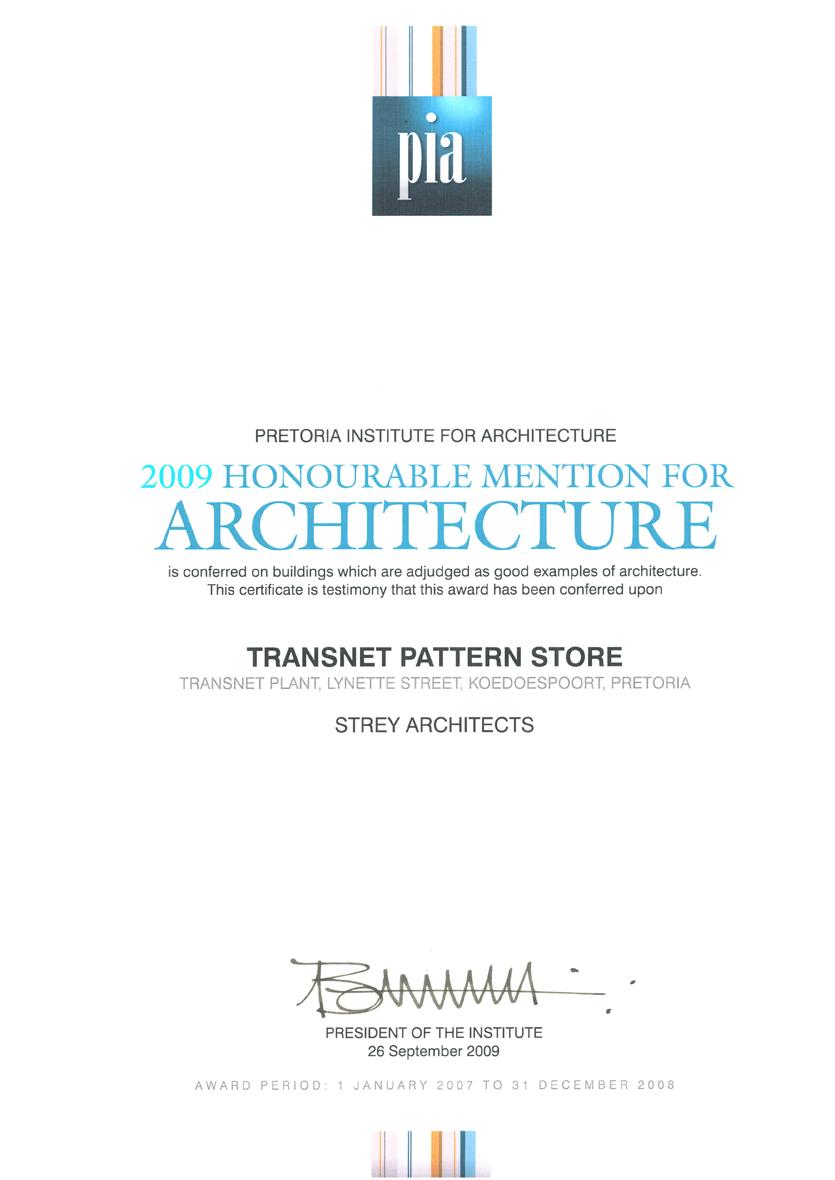 StreyArchPatternStorePIAHonourableMentionForArchitecture2009